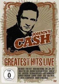 Cover Johnny Cash - Greatest Hits Live [DVD]